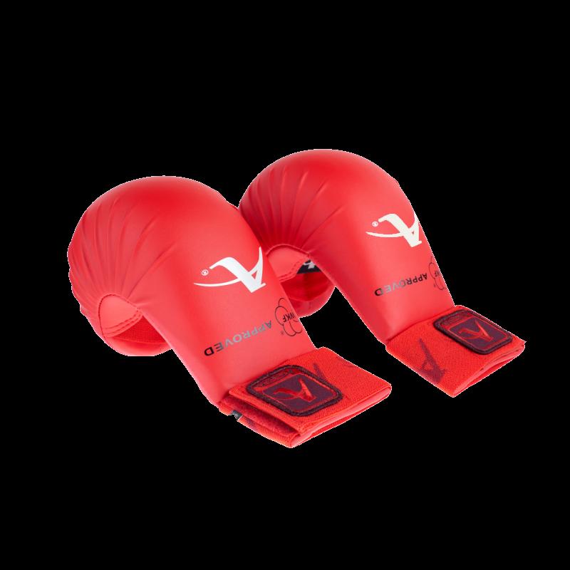 Накладки для каратэ Arawaza WKF NEW(красные)