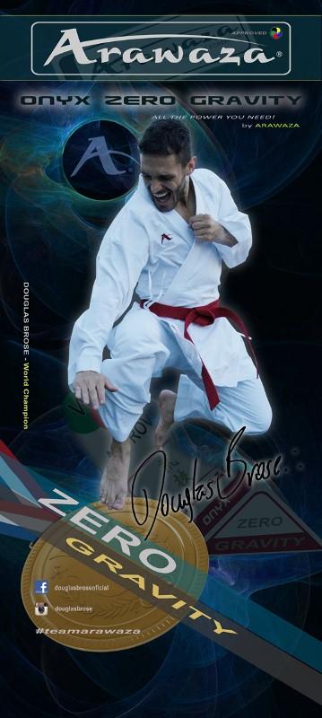 Кимоно для карате Arawaza Onyx Zero Gravity