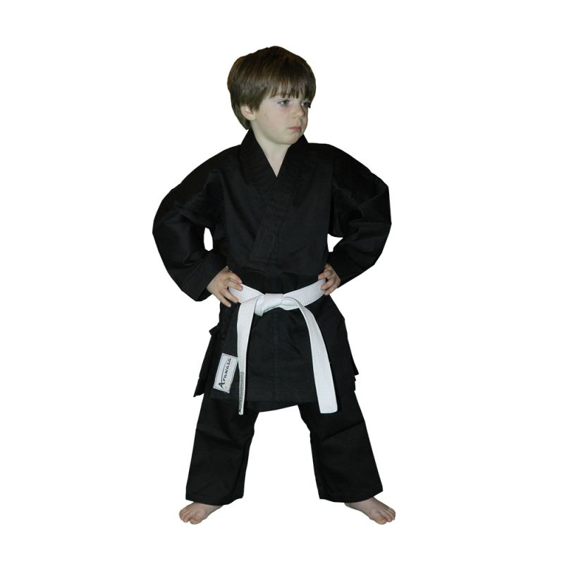 Кимоно для каратэ + пояс Arawaza Lightweight Black EKO