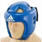 Детский и подростковый шлем Adidas Rookie синий полиуретан PU3G.